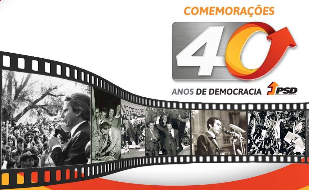 PSD encerra hoje comemorações dos 40 anos na Aula Magna
